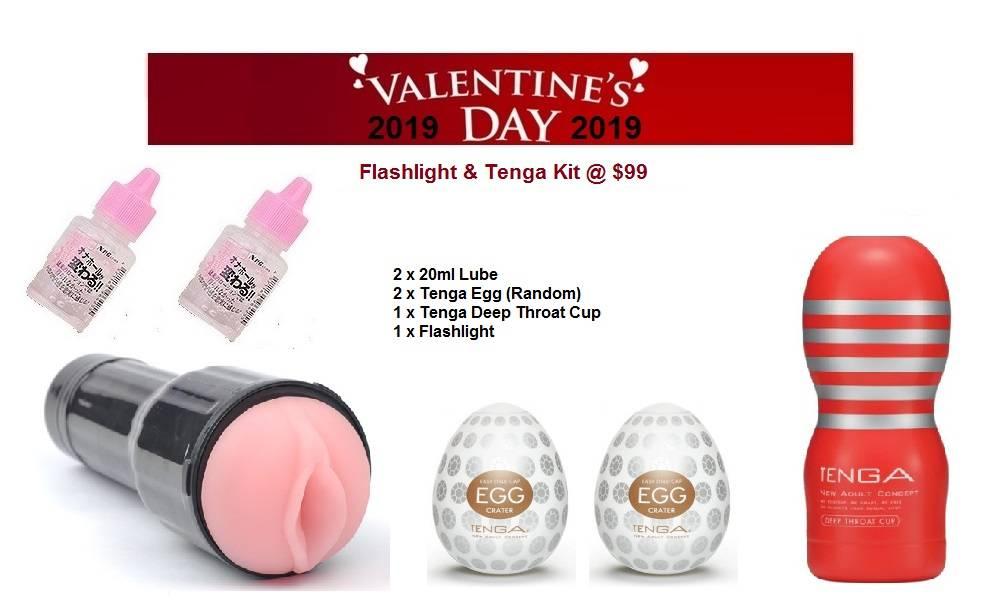 Valentine's Day 2019 Flashlight & Tenga Kit $99.jpg